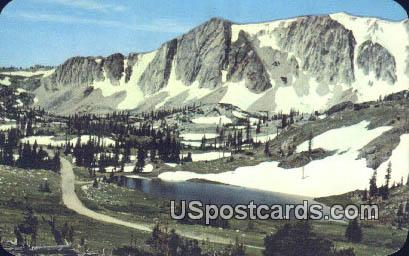 Snowy Range Country - Medicine Bow National Forest, Wyoming WY Postcard