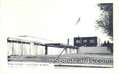 Pine Bluffs Elementary School - Wyoming WY Postcard