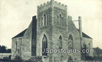 Christian Church - Wheatland, Wyoming WY Postcard