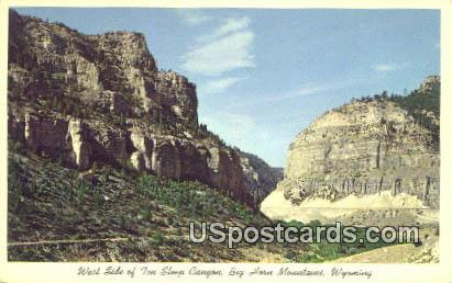 Ten Sleep Canyon - Big Horn Mountains, Wyoming WY Postcard