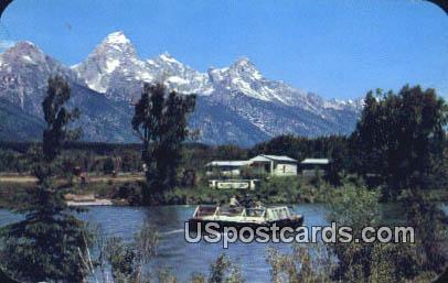 Historic Menor's Ferry - Jackson Hole, Wyoming WY Postcard