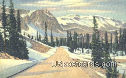 Snowy Range - Medicine Bow National Forest, Wyoming WY Postcard
