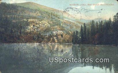 Mirror Lake - Big Horn Mountains, Wyoming WY Postcard