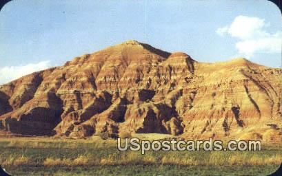 Red Rocks, Red Castle - Duboise, Wyoming WY Postcard
