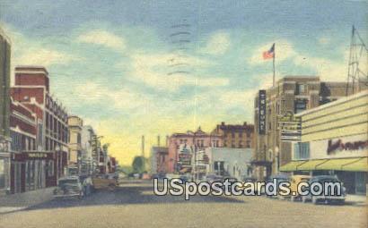 Seventeenth Street - Cheyenne, Wyoming WY Postcard