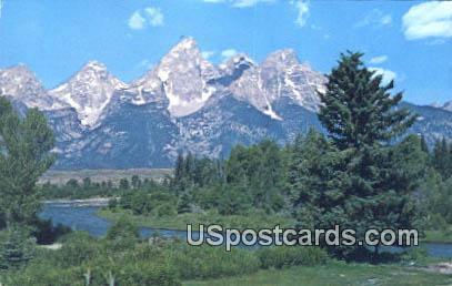 Grand Teton National Park, Wyoming Postcard      ;      Grand Teton National Park, WY