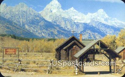 Chal - Jackson Hole, Wyoming WY Postcard