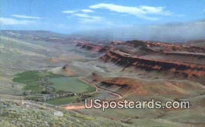 Red Rock Formations - Cheyenne, Wyoming WY Postcard