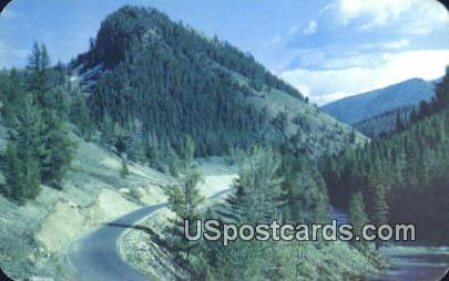 Battle Mountain - Jackson Hole, Wyoming WY Postcard