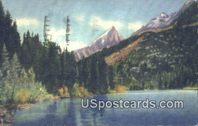 Beaver Dick Lake - Grand Teton National Park, Wyoming WY Postcard