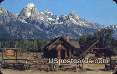 Chapel of the Transfiguration - Jackson Hole, Wyoming WY Postcard