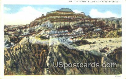 The Castle - Hells Half Acre, Wyoming WY Postcard