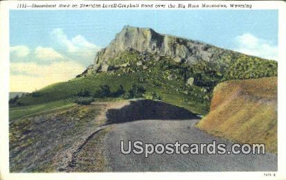 Steamboat Rocks - Big Horn Mountains, Wyoming WY Postcard