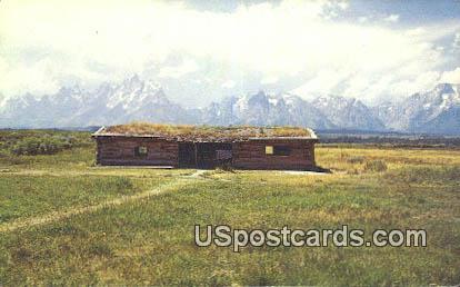 Cunningham Cabin - Grand Teton National Park, Wyoming WY Postcard