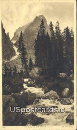The Glacier - Grand Tetons, Wyoming WY Postcard