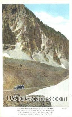 Sylvan Pass Loop - Buffalo Bill Country, Wyoming WY Postcard
