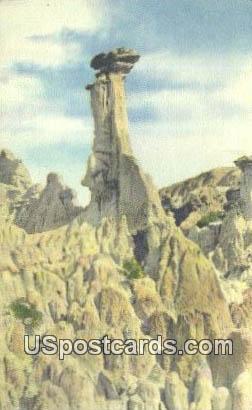 Hells Half Acre, Wyoming Postcard      ;      Hells Half Acre, WY