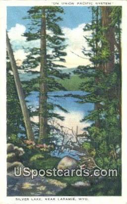 Silver Lake - Laramie, Wyoming WY Postcard