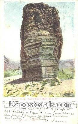 Giant's Club - Green River, Wyoming WY Postcard