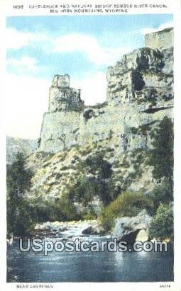 Castle Rock - Big Horn Mountains, Wyoming WY Postcard