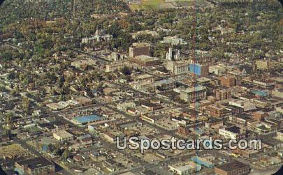 Downtown - Cheyenne, Wyoming WY Postcard