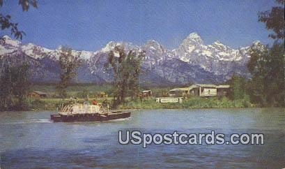 Menor's Ferry - Moose, Wyoming WY Postcard