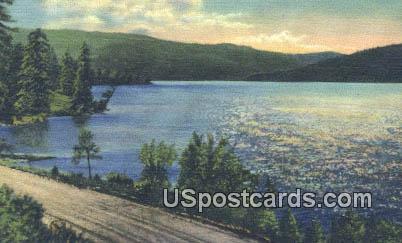 Half Moon Lake - Pinedale, Wyoming WY Postcard
