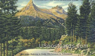 Mountains Pilot & Index - Billings, Wyoming WY Postcard