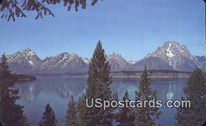 Teton Range - Teton National Park, Wyoming WY Postcard