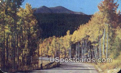 Park View Peak - Will Creek pass, Wyoming WY Postcard