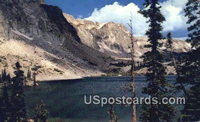 Lake Marie & Snowy Range - Southern Wyoming Postcards, Wyoming WY Postcard