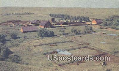WHR Headquarters - Cheyenne, Wyoming WY Postcard