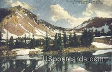 Taylors Peaks - Yellowstone National Park, Wyoming WY Postcard
