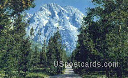 Mt Moran - Teton National Park, Wyoming WY Postcard