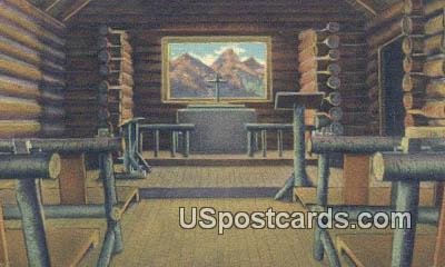 Jackson Hole, Wyoming Postcard      ;      Jackson Hole, WY