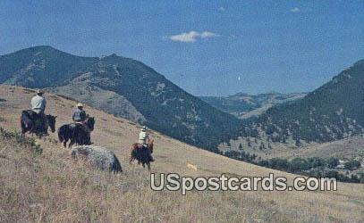 Eatons' Ranch - Big Horn Mountains, Wyoming WY Postcard