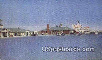 Little America, WY Postcard       ;      Little America, Wyoming