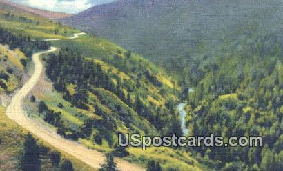 Big Horn Mountains, Wyoming Postcard      ;      Big Horn Mountains, WY