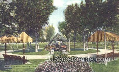 City Park - Cheyenne, Wyoming WY Postcard