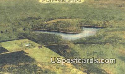 Sky Lake, WY Postcard       ;      Sky Lake, Wyoming