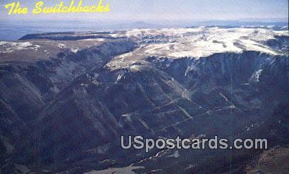Switchbacks - Cooke City, Wyoming WY Postcard