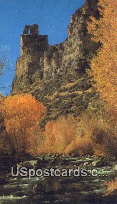 Castle Rock - Dayton, Wyoming WY Postcard