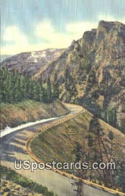 Cooke City - Yellowstone Park, Wyoming WY Postcard