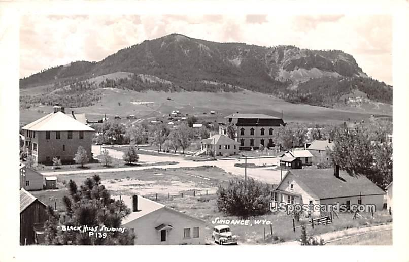 Birds Eye View - Sundance, Wyoming WY Postcard