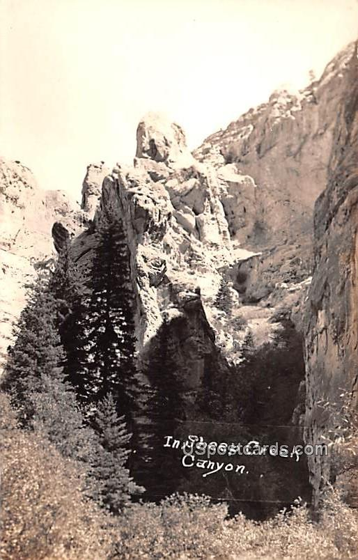 Sheep Creek Canyon - Wyoming WY Postcard
