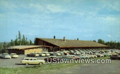 Canyon Lodge Admin Bldg - Yellowstone National Park, Wyoming WY Postcard