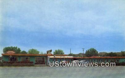Rainbow Inn - Cody, Wyoming WY Postcard