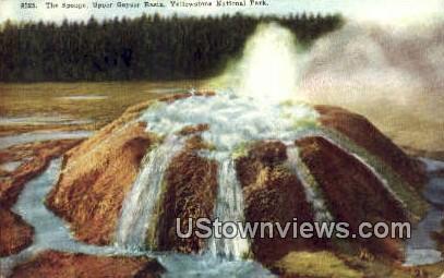 The Sponge - Yellowstone National Park, Wyoming WY Postcard