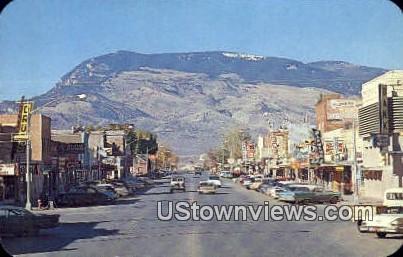 Main Street - Cody, Wyoming WY Postcard