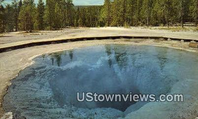 Morning Glory Pool - Yellowstone National Park, Wyoming WY Postcard